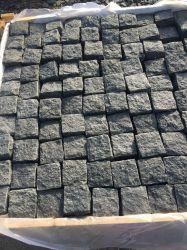 Pedra natural Black G684 Basalto Cube pedra para a paisagem de Jardim