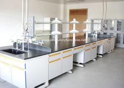 C-образной рамы деревянной мебелью в лаборатории химии лабораторной обработки объекта на немецком языке