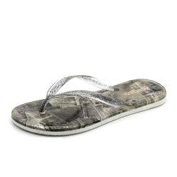 Charmant Nouveau Style Crystal Pantoufles Chaussures de gelée de gros