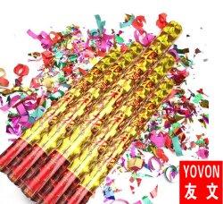 Parti colorés Rainbow Confettis de fusées