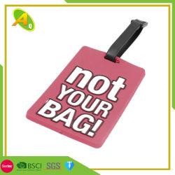 Custom металлические мешок для гольфа имя тега рекламных подарков (022)