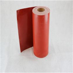 Corrosioncoated 내화성이 있는 두 배는 입힌 섬유유리 평야에 의하여 길쌈된 유리제 직물 실리콘에 의하여 편든다