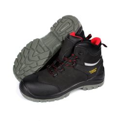 セリウムの証明書のNubuck S3の標準安全靴または安全履物または働き靴か作業ブートSn5712