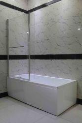 Scherm van de Douche van het Scherm van het Bad van de Hoek van het Comité van de badkamers het L-vormige