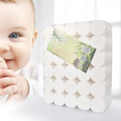 赤ん坊のためのタケ環境に優しい無漂白のトイレットペーパー