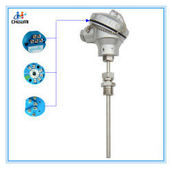 Sensor de temperatura do transmissor de temperatura com a IDT PT100 termopar K J S N