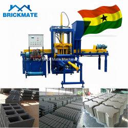 Qt3-20 Semiautomática de cemento de hormigón hidráulico Hollow/ bloque sólido/máquina de formación de ladrillo de Zimbabwe Botswana