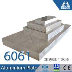 plaat van het Aluminium van Legering dik 6061 van 14mm 200mm T6 T651 de Opgepoetste voor de Bijkomende Vorm van de Klep