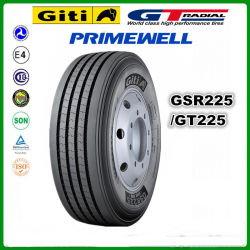 Giti/ Gt Radial / Primewell /Doublecoin/Trianlge / Linglong / Chengshan Neumático de Camión Radial 315/80R22.5 315 80 R22.5 GSR225 neumáticos para camiones comerciales