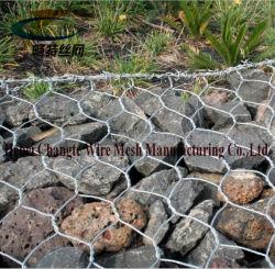 Zinco fortemente Gabião gaiolas de malha de arame galvanizado para rochas