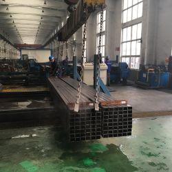 Geschweißtes kaltgewalztes schwarzes Kohlenstoff Quadrat-rechteckiges hohles Kapitel-Stahlrohr der China-Fabrik-Frau-ERW