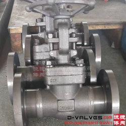 ANSI GB JIS DIN Klep Op hoge temperatuur van de Poort van het Staal Wcb van de Hoge druk de Roestvrij staal Gesmede