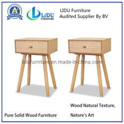 나무로 되는 작은 테이블 측 테이블 램프 테이블 나무로 되는 침대 탁자