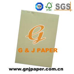 Taille standard de la pâte de bois du papier de couleur pour la vente de carte