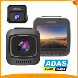 2.0Inch coche DVR con lente Sony IMX323 La visión nocturna, grabación en bucle GPS Adas G-Sensor