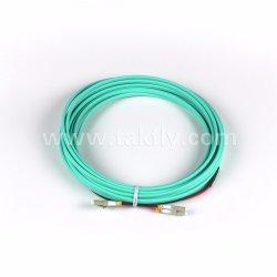 Om3 50/125 многомодовый дуплексный LC LSZH оптоволоконный кабель питания исправлений