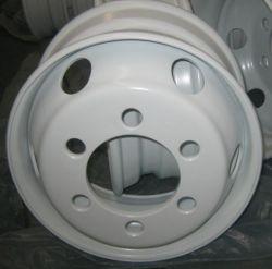 Usine de la qualité Des prix de gros camion de bus de l'acier roue6.75 17,5 X 22,5 X9.00 remorque de camion jantes Tubeless 19.5*7,50 roue du chariot en acier de roue