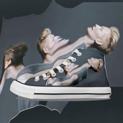 Greenshoe die meisten populäres nach Maß Segeltuch-flachen Schuhe, Turnschuh-Schuh-Segeltuch für Männer, preiswertes Mens-Segeltuch-beiläufige Schuhe