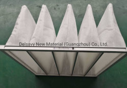 Bolso de pintura das fibras sintéticas para o material do filtro de ar da cabine de spray