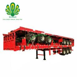 Fabricant Shengrun 40FT Conteneur à plat semi remorque de camion