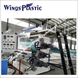 PVC 방수 코일형 와이드 시트 생산 라인/소프트 PVC 바닥재 메이킹 기계