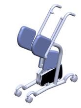 El traslado del paciente Trolley de aluminio plegable