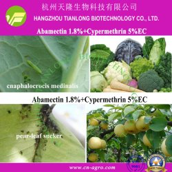 El 5% cipermetrina+Abamectina 1,8% CE-cipermetrina+abamectina (5%+1,8%), mezcla de insecticidas