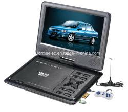 """Écran LCD 9"""" lecteur DVD portable avec jeux TV analogique"""