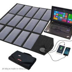caricatore solare piegato 18V100W con l'alto indicatore luminoso di Sunpower che mette a fuoco i comitati solari per il telefono mobile, iPad, calcolatore e nuova automobile di energia ed il suo carico di batteria