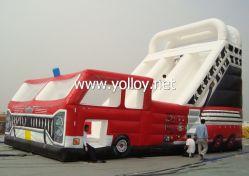 Большой красный надувные погрузчика (SL-001)