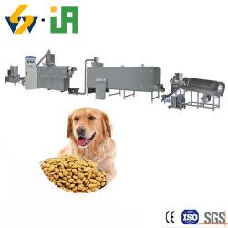 Ligne de production de la nourriture pour animaux chiens chats Aliments pour poissons d'oiseaux se nourrissent de boulettes de la machine de traitement de l'Extrudeuse Extruder la ligne de matériel d'usine