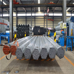 Sch40 Resíduos explosivos de Tubo de Aço Galvanizado a quente Gi Tamanho do tubo redondo de aço galvanizado