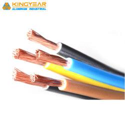 Conducteur en cuivre souple de l'énergie isolation en PVC le fil électrique pour la construction