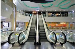 30/35 Gradi Commercial Passenger Escalator Moving Walking For Shopping Center