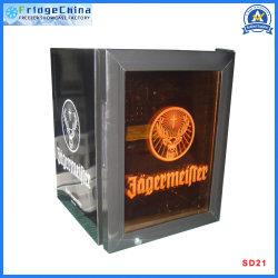 Mini porta de vidro Bar Exibir frigorífico de bebidas comerciais Hotel Frigorífico equipamento de cozinha freezer