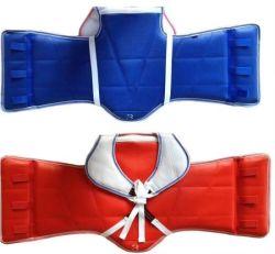 Taekwondo Artes Marciales equipos protectores del Cuerpo de Guardias de chaleco reversible pecho