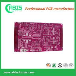 2Couche HASL Lf violet Masque de soudure 1.0mm PCB PCB Livraison rapide manufacturier