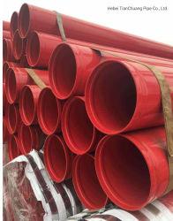 ASTM A795 Fire Control оцинкованных канавку трубопровода