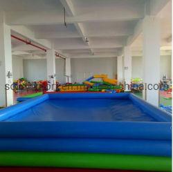 Personalizável infláveis exterior Piscina de água colorida para o parque de diversões
