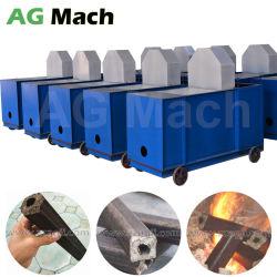 Les déchets agricoles de la biomasse de la sciure de bois Briquettes Log Making Machine