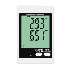 Depósito da cadeia de frio GSM ALARME SMS Data Logger de umidade de temperatura do LCD