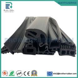 OEM Custom façonné l'EPDM PVC mousse de silicone bandes d'étanchéité en caoutchouc solide profil d'extrusion en caoutchouc pour l'auto porte fenêtre