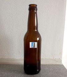 Leere freie Großhandelsglasstutzen-Bier-Glasflasche der bierflasche-12 Unze-330ml lange 330 ml