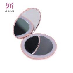 10 X Lupa Espelho Retrovisor de luz LED com bateria de botão espelho de maquilhagem