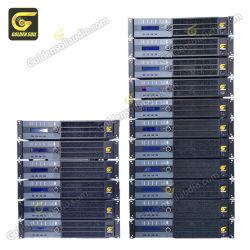 La8 Amplificador DSP 4 CH 1500 W de potência profissional de amplificador de altifalante amplificador de áudio