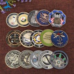 Pièce en or de l'estampage de basket-ball pour l'anneau de retour de souvenirs religieux des pièces de monnaie de souvenirs en étoile (129)