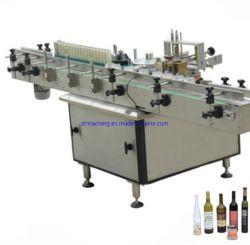 Voller automatischer nasser Kleber-Papier-Kennsatz-Etikettiermaschine für Spiritus-Produkt
