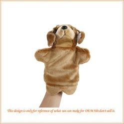 Títere de mano caliente de Venta de juguetes de peluche marioneta de peluche