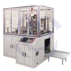 Totalmente ecológica Fiambrera de papel automático que hace la máquina