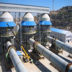 Proceso húmedo y seco de la calcinación horno de cemento, cemento, horno rotativo